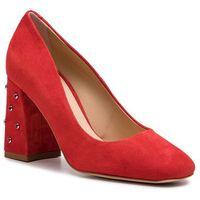 Półbuty - 50221-33-g13/000-04-00 czerwony, Solo femme, 35-40