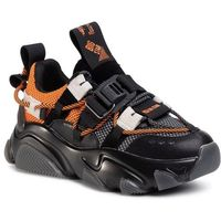 Sneakersy BIG STAR - FF274A555 Black/Orange, kolor wielokolorowy