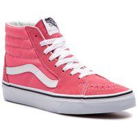 Sneakersy VANS - Sk8-Hi VN0A38GEGY71 Strawberry Pink/Truewhite, kolor różowy