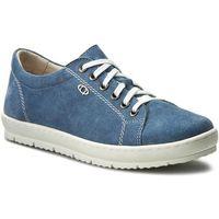 Sneakersy QUAZI - ILARIA-01 Jeansowy