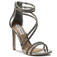 Sandały STEVE MADDEN - Sweetest Sandal 91000523-0S0-07011-14002 Pewter, w 6 rozmiarach