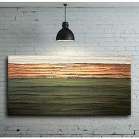Pracownia art.&texture Stylowe i eleganckie obrazy ręcznie malowane - jesienna zieleń i miedź