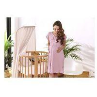 Koszula nocna ciążowa i do karmienia DN - flamingo