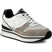 Sneakersy EMPORIO ARMANI - X3X046 XL214 A022 Pla/Whi/Sil/Blk/Sil, kolor wielokolorowy