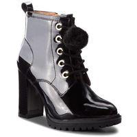 Caprice Botki - 9-25202-21 black patent 018