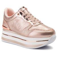 Guess Sneakersy - hinders3 fl7hn3 ele12 rose