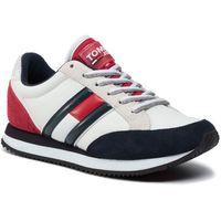 Sneakersy - casual retro sneaker en0en00644 rwb 020 marki Tommy jeans