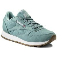 Reebok Buty - cl leather estl bs9724 whisper teal/white