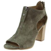 Sandały 81406 - oliwka w marki Nessi
