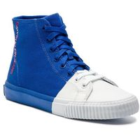 Sneakersy CALVIN KLEIN JEANS - Iridea R7778 Nautical Blue/White, kolor niebieski