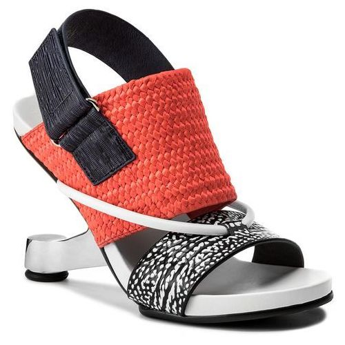 Sandały UNITED NUDE - Eamz Tribal 1028441646108 Black And White Mix/Neon Red/Navy, w 4 rozmiarach