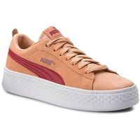 Sneakersy - smash platform sd 366488 05 dusty coral/pomegranate, Puma