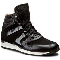 Sneakersy BALDACCINI - 789500-C42 Czarny groch/Cz. Zamsz/Cz. Lak