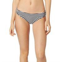 strój kąpielowy FOX - Jail Break Lace Up Btm Black/White (018) rozmiar: S, kolor biały
