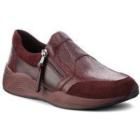 Sneakersy GEOX - D Omaya A D620SA 09D22 C7357 Dk Burgundy, w 6 rozmiarach