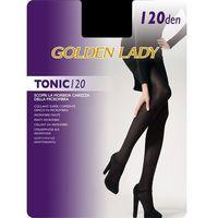 Rajstopy Golden Lady Tonic 120 den 3-M, czarny/nero, Golden Lady