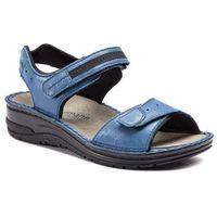 Sandały - leni 03102 blau/glitter 318 marki Berkemann