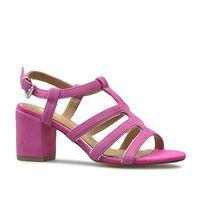 Sandały 2-28350-22 różowe zamsz, Marco tozzi