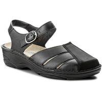 Sandały BERKEMANN - Birthe 03417 Schwarz 970, kolor czarny