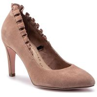 Półbuty - 1-22451-22 old rose suede 616, Tamaris