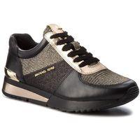 Sneakersy MICHAEL MICHAEL KORS - Allie Wrap Trainer 43T8ALFS2D Blk/Gold, 1 rozmiar