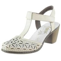 Sandały Rieker 40995 - Białe ||Kremowe (4020933924811)