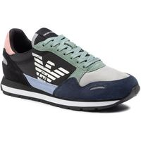Sneakersy - x3x058 xl481 r529 blu zen/dk green/blk marki Emporio armani