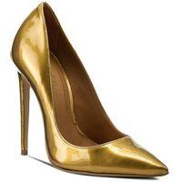 Szpilki KAZAR - Natalie 23928-L0-13 Złoty, kolor żółty
