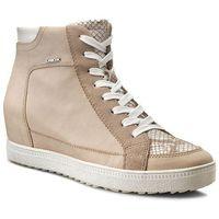 Sneakersy GEOX - D Amaranth H.A D52S9A 0CLTN C0662 Beż/Stazony Biały