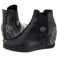 Sneakersy CheBello Czarne 1853/076-P (CH17-b), w 2 rozmiarach
