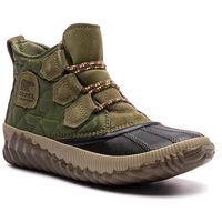 Botki SOREL - Out N About Plus NL3152 Hiker Green 371, kolor zielony