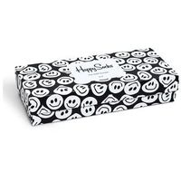 Happy Socks - Skarpetki Black&White Gift Box (4-pak)