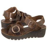 Sandały FLY London Yech Bridle Camel P144189001 (FL257-a), kolor brązowy