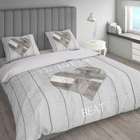 Room99 Pościel nightlife cosy bedroom grey 220x200+2 poszewki 60x70 rom964 - odbiór w 2000 punktach - salony, paczkomaty, stacje orlen (8719322461520)