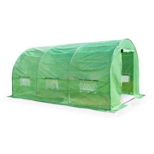 Zielony tunel foliowy 2x4m metalowy stelaż - Transport GRATIS!