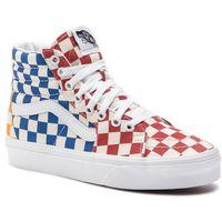 Sneakersy VANS - Sk8-Hi VN0A38GEVLV1 (Checkerboard) Multi/True, kolor wielokolorowy