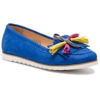 Mokasyny BALDACCINI - 1088500 Chaber Zamsz/Cytrun Zamsz/E, kolor niebieski