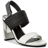 Sandały UNITED NUDE - Zink Slingback Hi 10300477114 White/Black/Black And White Mix