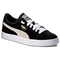 Sneakersy PUMA - Suede Jr 355110 01 Black/White