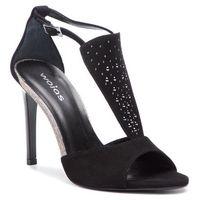 Sandały WOJAS - 9772-61 Czarny, kolor czarny