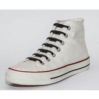 Shoeps silikonowe sznurówki do butów black