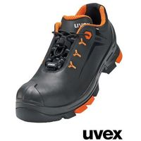 Półbuty Ochronne UVEX BUVEXPS3-TWO BP 35-52 45 Czarny/Pomarańczowy, kolor czarny