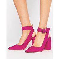 pina colada pointed high heels - pink, Asos