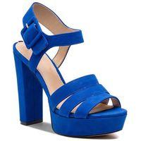 Sandały GUESS - FL6LYL SUE03 BLUE, kolor niebieski