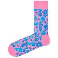 Happy socks under the sea skarpetki niebieski różowy 36-40