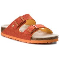Kapcie BIRKENSTOCK - Arizona Rivet 1012428 Doubleface Orange, w 2 rozmiarach