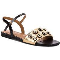Sandały KAZAR - Parrita 32266-18-52 Czarny Złoty