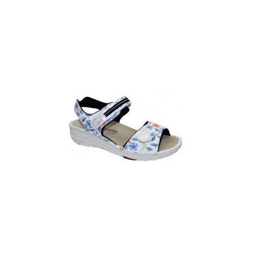 Sandały damskie leni 03102-051 marki Berkemann