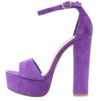 Steve Madden GONZO Sandały na obcasie purple (8719484333840)