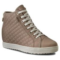 Sneakersy GEOX - D Amaran.H.B Abx A D62L2A 00085 C6738 Lt Taupe, kolor beżowy